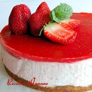 bavarois aux fraises et speculoos