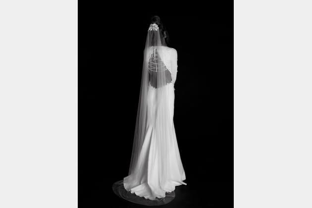 Robe de mariée Hazel, de dos