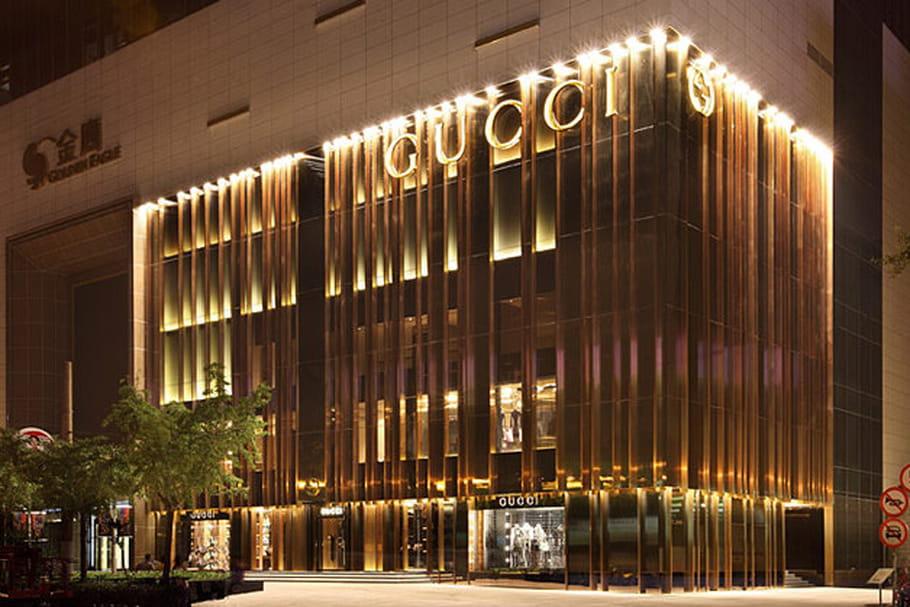 Gucci ouvre un restaurant à Shanghai