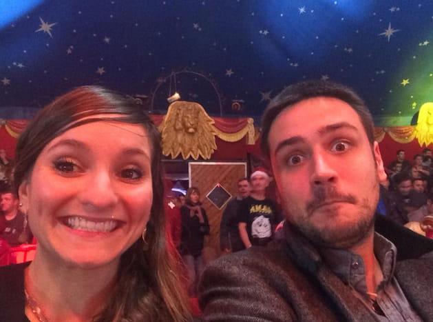 Noémie et Quentin font leur cirque