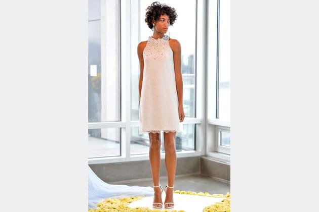 La robe perlée Pamella Roland