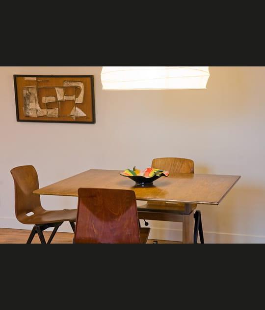 Un mobilier à la fois simple et recherché