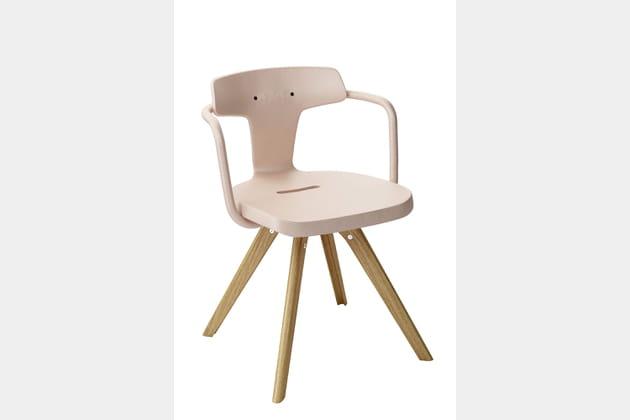 Chaise T14 par Patrick Norguet chez Tolix