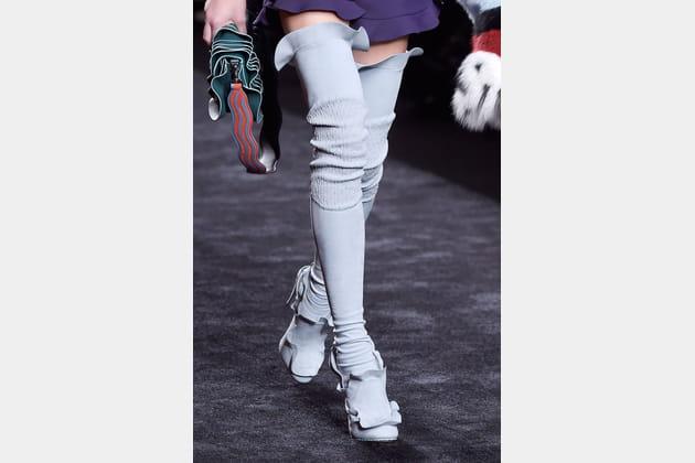Les chaussures délirantes du défilé Fendi