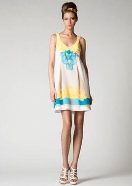 la robe estivale de versace