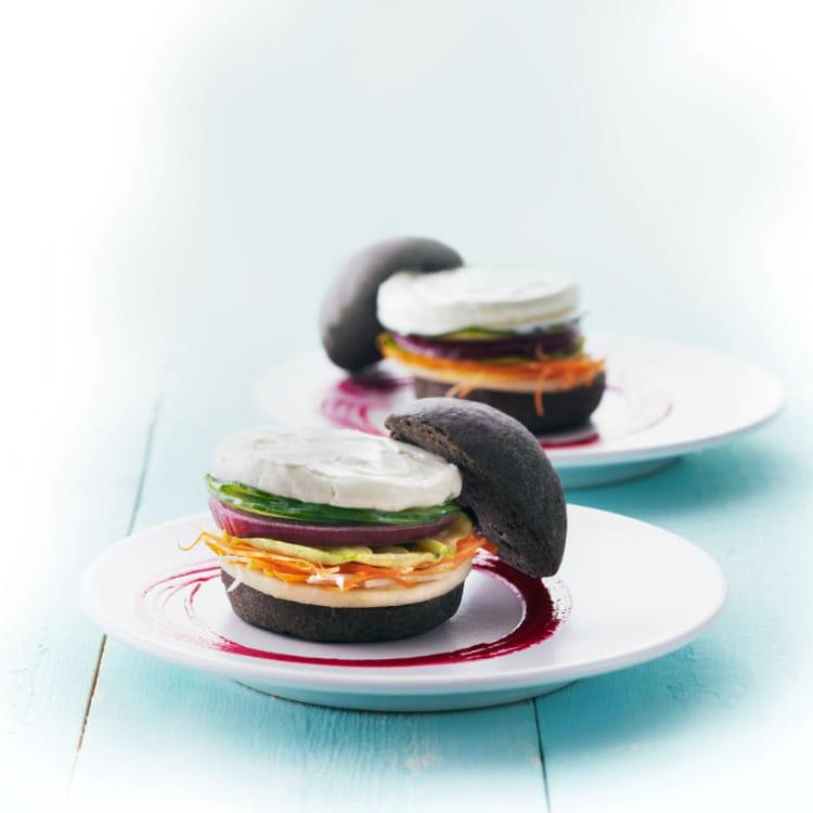 Recette De Mini-burger Primeur Au St Môret Et Ketchup De