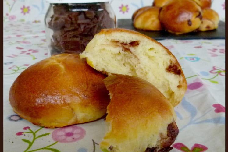 Briochettes façon DooWap aux pépites de Nutella