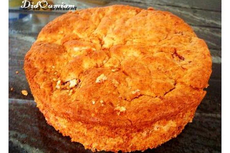Gâteau aux fraises - coco