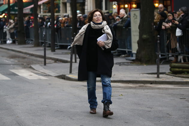 Aux obsèques de France Gall au Cimetière de Montmartre