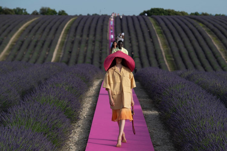 Fashion week: début des shows printemps-été 2022à Londres