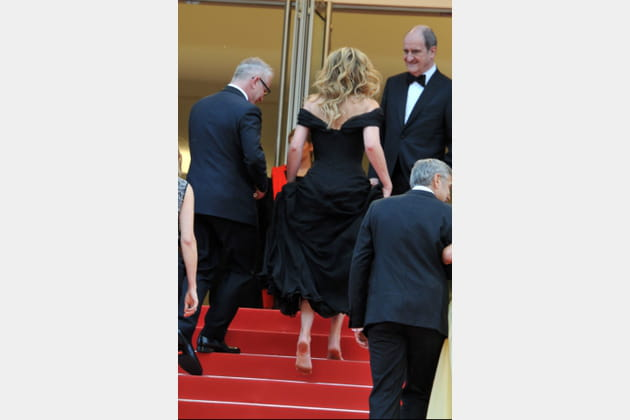 Julia Roberts, pieds nus sur le red carpet