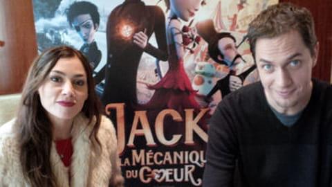 Rencontre avec Olivia Ruiz et Grand Corps Malade pour Jack et la Mécanique du Coeur