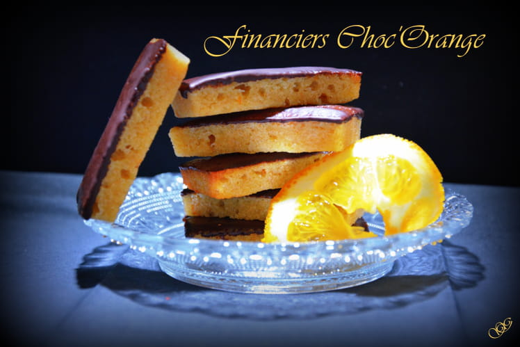Financiers Orange Chocolat