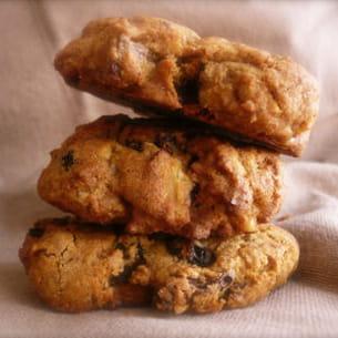 cookies à la vergeoise et au sarrasin