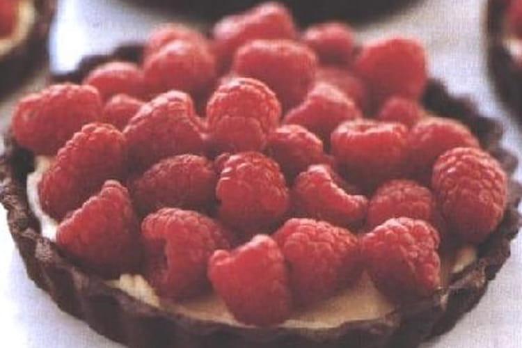 Tartelettes choco-framboise