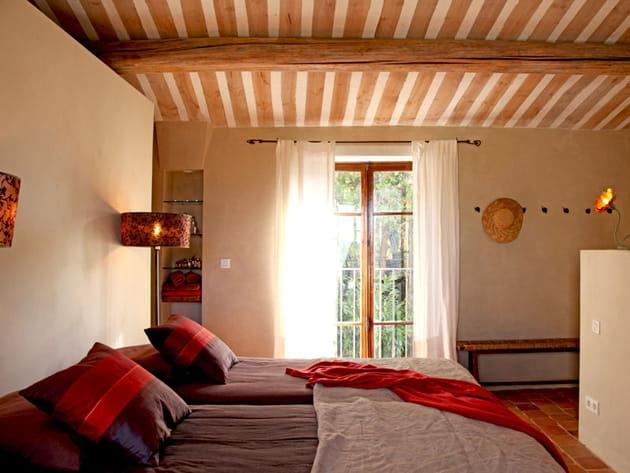 Plafond à la provençale