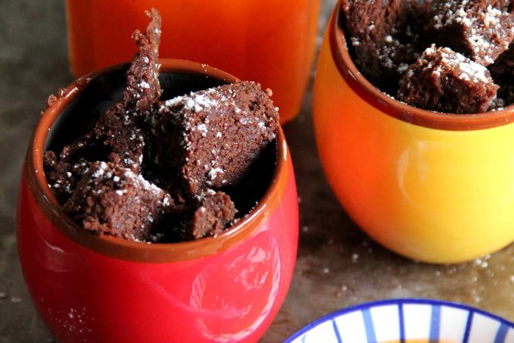 Bouchées chocolatées au chocolat noir