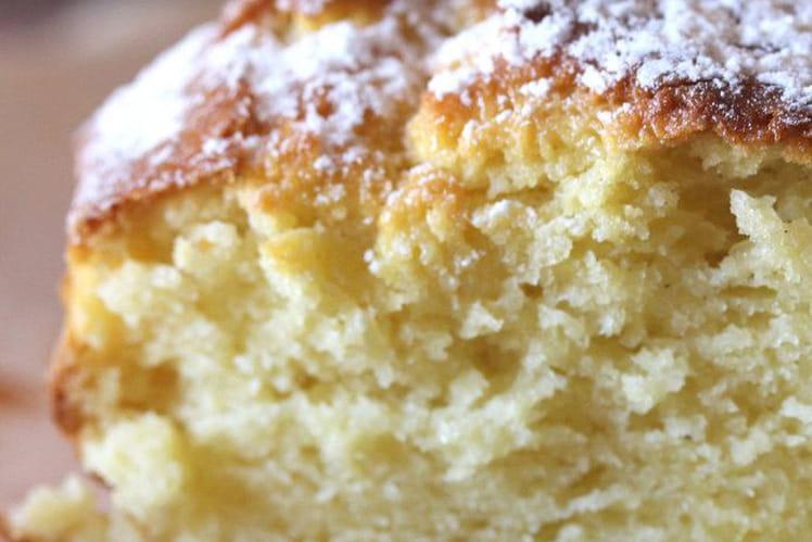 Cake au yaourt saveur vanille
