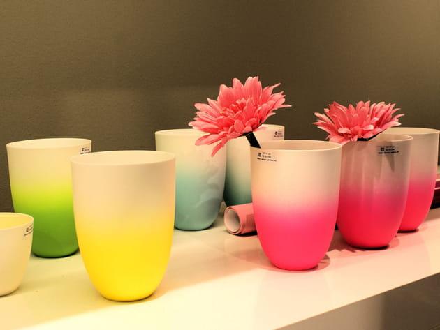 Vase et photophore d'Asa Selection
