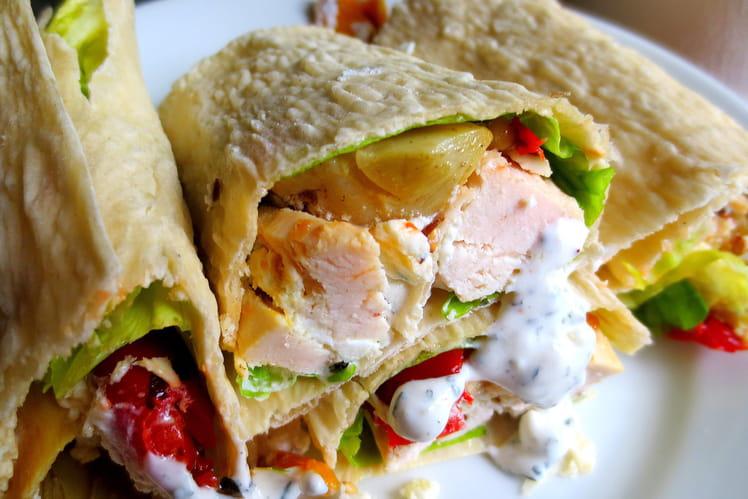 Sandwich aux Allures d'Orient