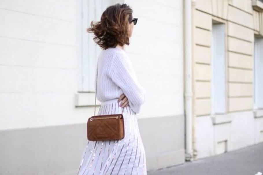 Le look blogueuse de la semaine : Emilie de The Brunette, un printemps où le cuivre est d'or