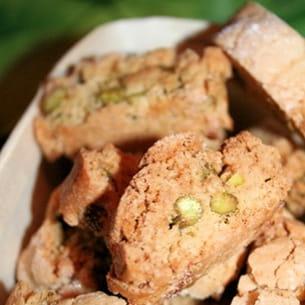 minis biscottis lime et pistaches