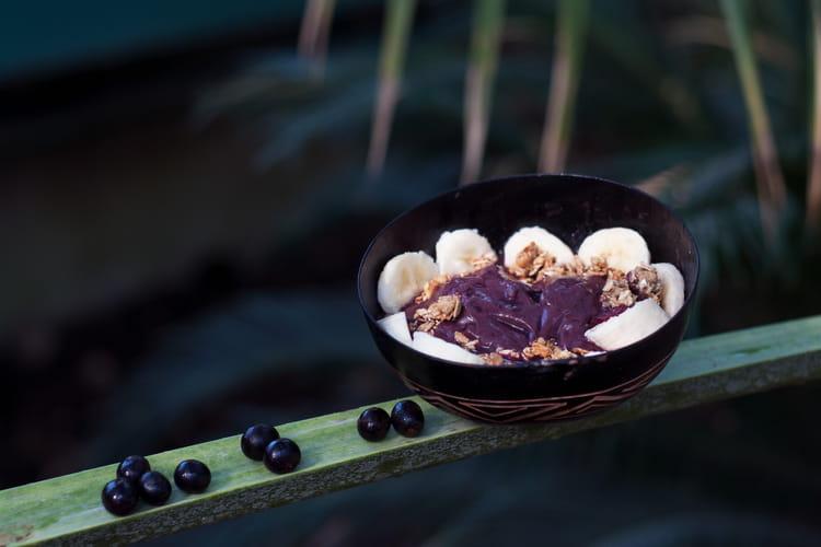 Acai bowl de Rio - açai/banane