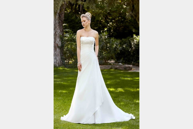 Robe de mariée Elena de Point Mariage