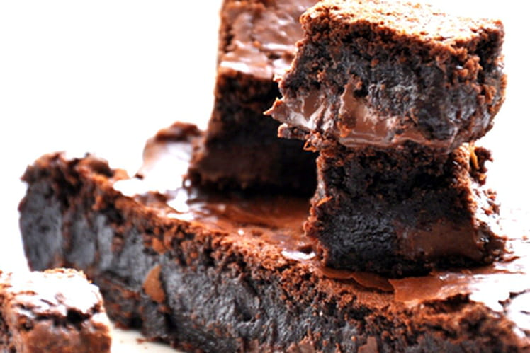 Brownies gourmands au Nutella