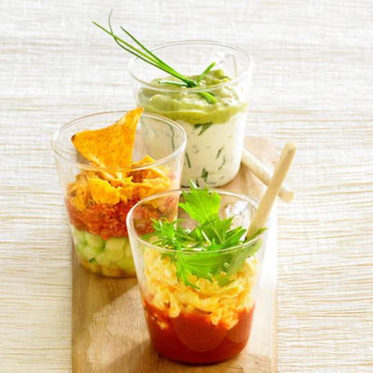 30 recettes de verrines salées