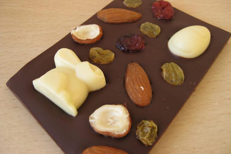 Mini tablettes au chocolat de Pâques