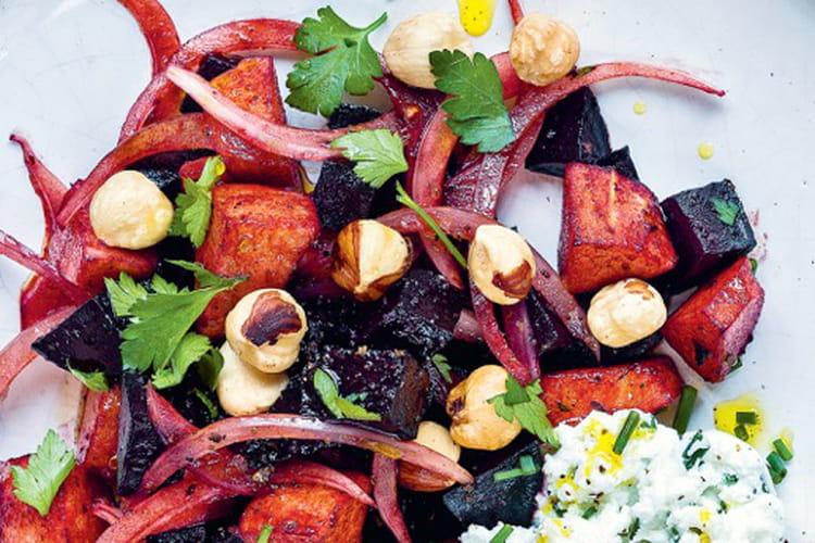 Salade betterave & chèvre