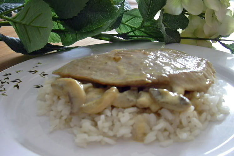 Escalopes de veau à la normande