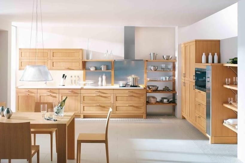 Du mobilier en bois pour une cuisine authentique