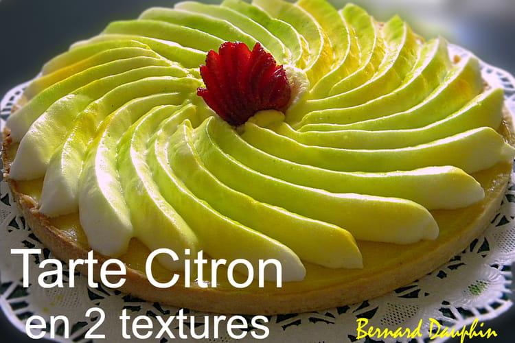 Tarte au citron double texture