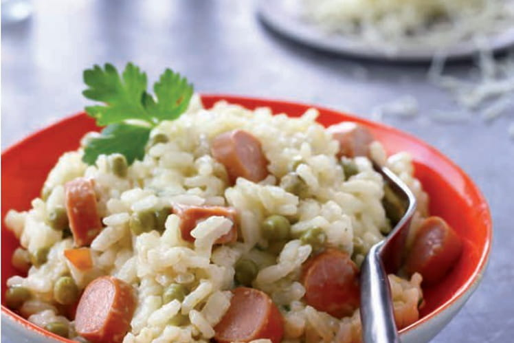 Knacki® en risotto