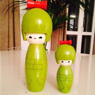 les poupées japonaises d'ony