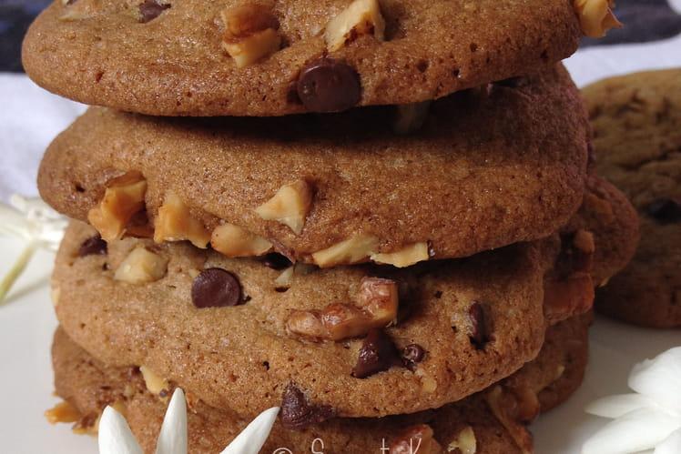 Cookies à la pâte de noix et au chocolat