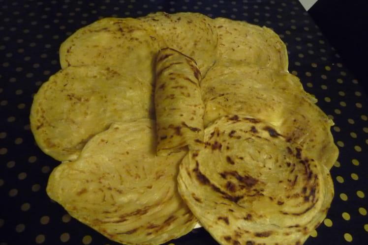 Crêpes marocaines (Msemen) : la meilleure recette
