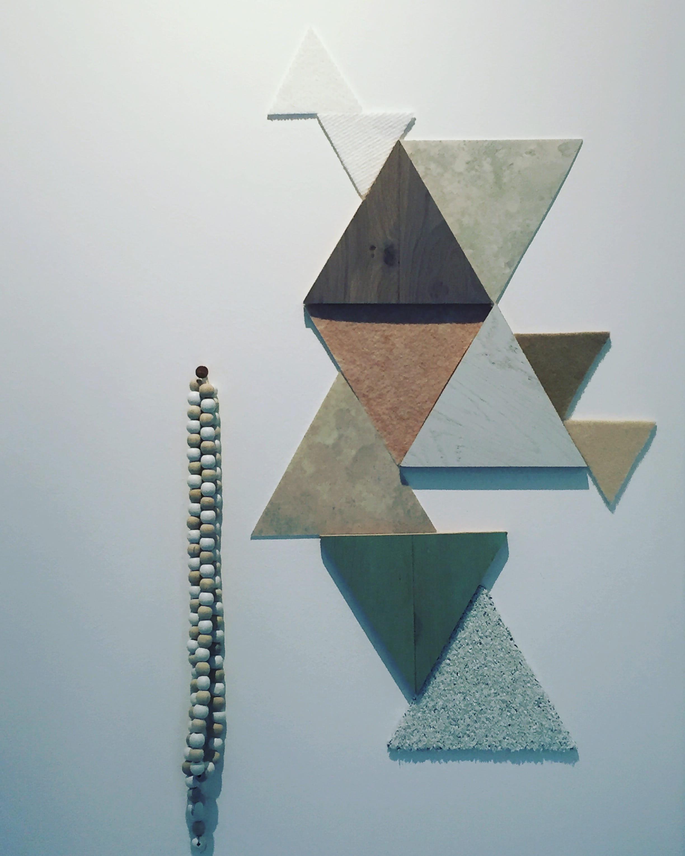 D coration murale de diff rents mat riaux for Deco murale graphique