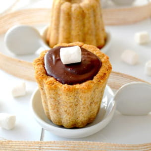 biscuits s'mores cannelés