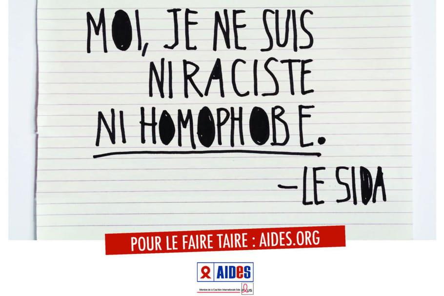 """""""Moi le Sida"""", la campagne de AIDES refait parler du virus"""