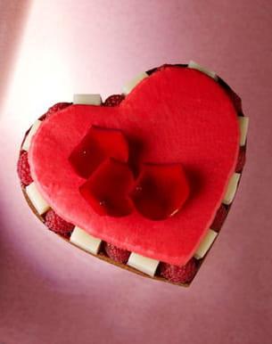 cœur tarte ispahan de pierre hermé