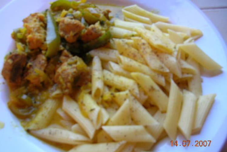 Curry de veau à la française