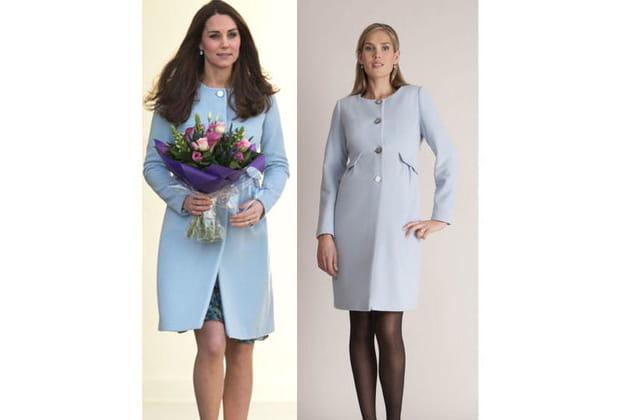 Kate Middleton : un manteau en cachemire