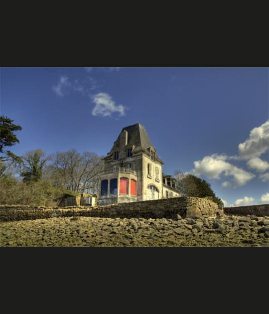 Sur une île du Finistère
