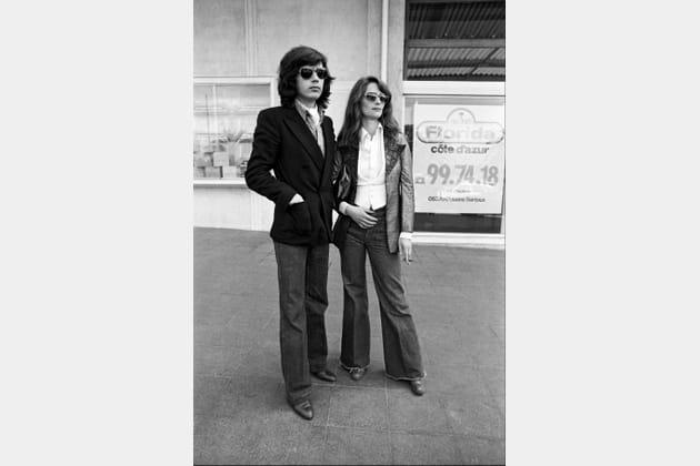 Charlotte Rampling et son french lover Jean-Michel Jarre