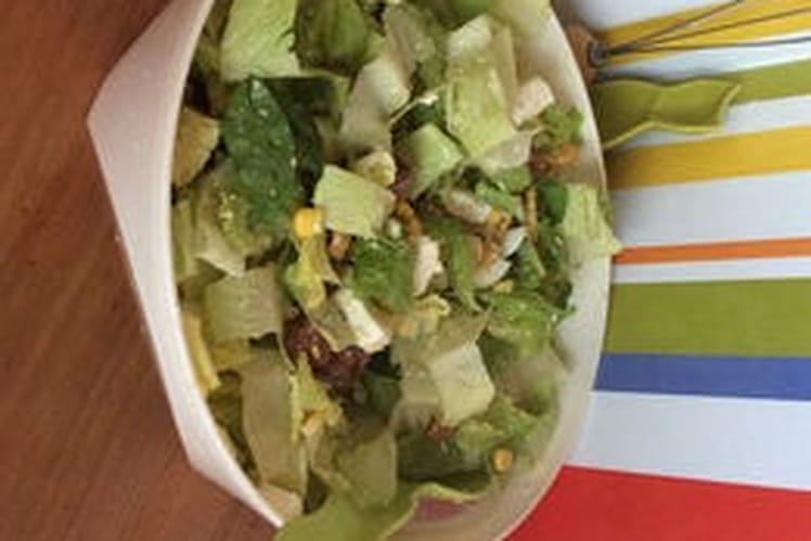 Salade Caesar loin de Rome