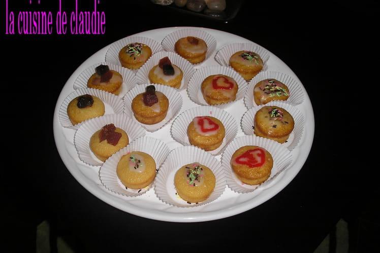 Mini muffins déguisés