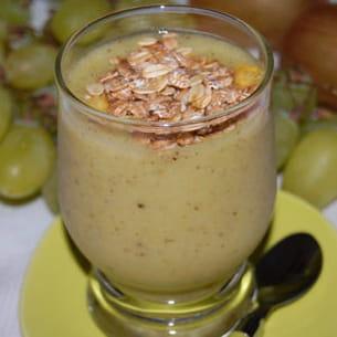 smoothie raisins-kiwis